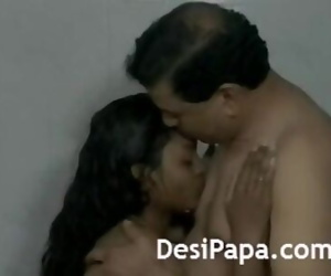 Desi Couple Making Shower..